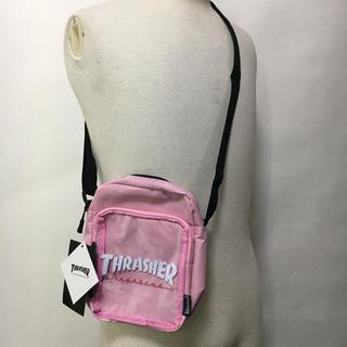 スラッシャー(THRASHER)の新品 スラッシャー ミニ ショルダー ピンク ユニセックス サコッシュ(ショルダーバッグ)