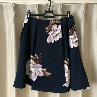 d5b9f6904f4e7 スナイデル(snidel)のsnidel 花柄スカート(ひざ丈スカート)