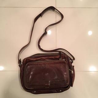 ムジルシリョウヒン(MUJI (無印良品))の無印良品 皮 ショルダーバッグ(ショルダーバッグ)