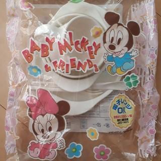 ディズニー(Disney)のミッキーミニー ベビー食器(離乳食器セット)
