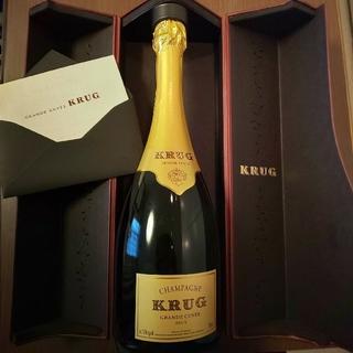 クリュッグ(Krug)のtyobiru様専用☆クリュッグ グランキュベ 750ml(シャンパン/スパークリングワイン)