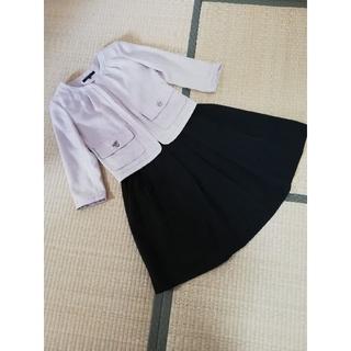 ケティ(ketty)のkettyノーカラージャケット/monableフレアスカート(スーツ)