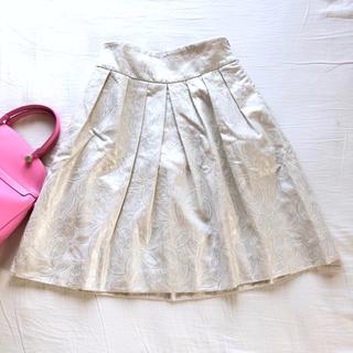 ザラ(ZARA)のザラ ZARA ジャガードスカート (ひざ丈スカート)