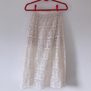 キッカザダイアリーオブ(KIKKA THE DIARY OF)のKIKKA レーススカート(ひざ丈スカート)