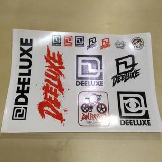 ディーラックス(DEELUXE)のスノボー ステッカー DEELUXE ディーラックス 色々セット 新品 送料込み(アクセサリー)