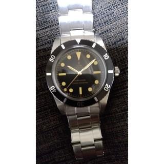 チュードル(Tudor)のチュードル サブマリーナ アンティーク  リベットブレス(腕時計(アナログ))