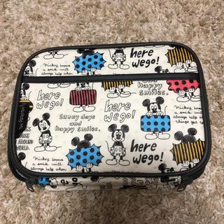 ディズニー(Disney)のミッキーおむつポーチ(ベビーおむつバッグ)
