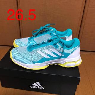 アディダス(adidas)のアディダス テニスシューズ バリケード 26.5(シューズ)