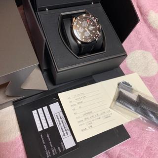 エドックス(EDOX)のエドックス オフショワ 自動巻き 新品クロコダイルベルト付き(腕時計(アナログ))