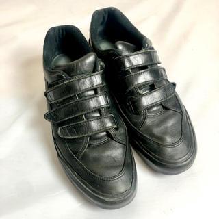 ダブルジェーケー(wjk)のwjk  ベルクロ スニーカー 黒 マジック  靴 メンズ (スニーカー)