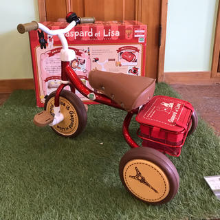 ディズニー(Disney)の三輪車 リサとガスパール(三輪車/乗り物)