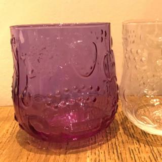 イッタラ(iittala)のriri様専用 フルッタ アメジスト(グラス/カップ)
