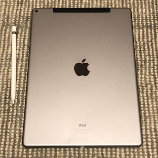 アイパッド(iPad)の【本体+Pencil+キーボード】iPad Pro 12.9 cellular(タブレット)