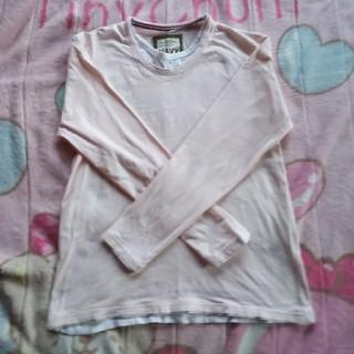 ネイビープロデュース(Navy produce)のピンクのロンティーXL(Tシャツ/カットソー(七分/長袖))
