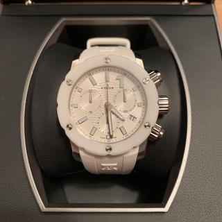 エドックス(EDOX)の【美品】EDOX クロノオフショア1 腕時計(腕時計)