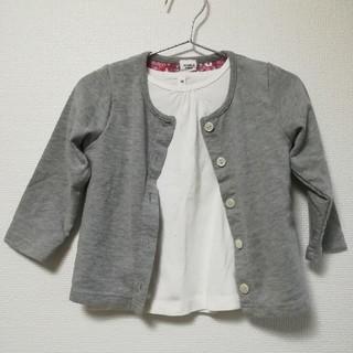 ムジルシリョウヒン(MUJI (無印良品))のトップスset(Tシャツ/カットソー)