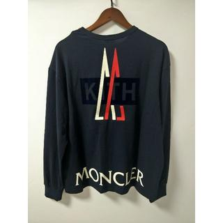 モンクレール(MONCLER)の美品 Moncler  Tシャツ モンクレール size M 送料無料(Tシャツ/カットソー(七分/長袖))