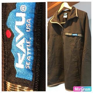 カブー(KAVU)のKAVU  Throw shirts(マウンテンパーカー)