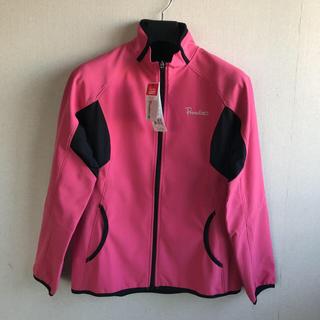 パラディーゾ(Paradiso)のパラディーゾ 裏起毛ジャケット ピンクM 定価14904円 撥水(ウェア)