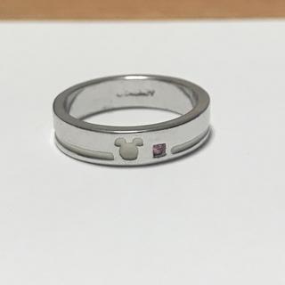 ディズニー(Disney)のディズニー 指輪 ピンクストーン ミッキー (リング(指輪))