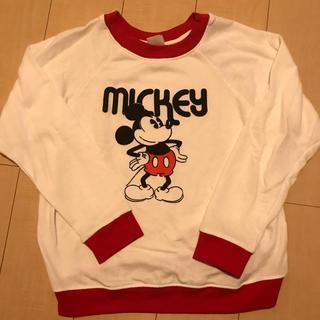 ディズニー(Disney)のトレーナー ディズニー ミッキー(トレーナー/スウェット)