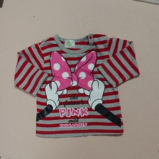 ディズニー(Disney)のMinnie ロンT (Tシャツ)