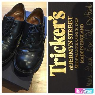 トリッカーズ(Trickers)のTricker's Box calf  oxford M7401  希少 レア(ドレス/ビジネス)