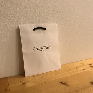 カルバンクライン(Calvin Klein)のまいまいさん確認用ショップ袋2枚セット(ショップ袋)