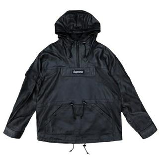 シュプリーム(Supreme)の新品)18AW Supreme Leather Anorak レザー アノラック(レザージャケット)
