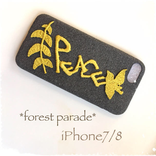 ミナペルホネン(mina perhonen)のforest parade*iPhone7/8*キイロ(スマホケース)