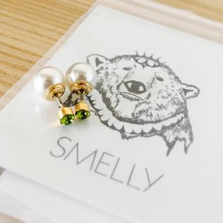 スメリー(SMELLY)のSMELLY<新品>リバーシブルツブピアス(ピアス)