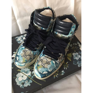 wholesale dealer 4a14a d6648 ★正規品・ギャランティーカード★GUCCI flower Sneaker グッチ
