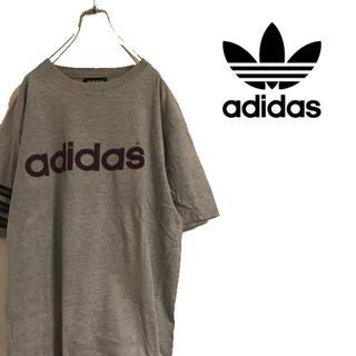 アディダス(adidas)のadidas アディダス ビッグロゴ Tシャツ スリーストライプス 三本線(Tシャツ/カットソー(半袖/袖なし))