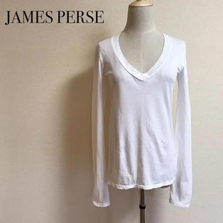 ジェームスパース(JAMES PERSE)のJAMES PERSE Vネックカットソー サイズ1(カットソー(長袖/七分))