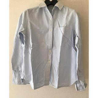 ムジルシリョウヒン(MUJI (無印良品))の無印良品 オックスストライプシャツ(シャツ/ブラウス(長袖/七分))