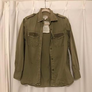 カレントエリオット(Current Elliott)のCURRENT ELLIOTT ミリタリーシャツジャケット(シャツ/ブラウス(長袖/七分))