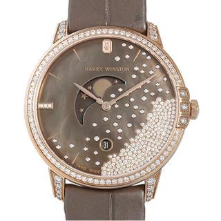 ハリーウィンストン(HARRY WINSTON)のミッドナイト ダイヤモンド ドロップ(腕時計(アナログ))