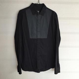 ARMANI EXCHANGE - 美品 本物 正規品 A/X アルマーニエクスチェンジ メンズ 長袖シャツ 黒