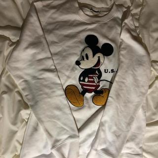 ディズニー(Disney)のミッキー トレーナー(トレーナー/スウェット)