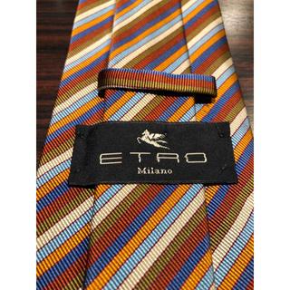 【ETRO】ネクタイ  ストライプ