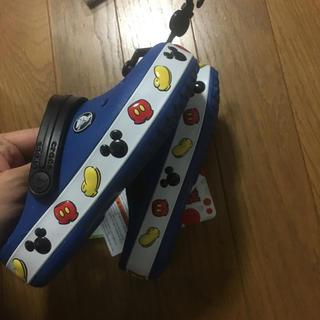 ディズニー(Disney)の送料込み! ディズニー商品 ミッキー クロックス 17.5cm(サンダル)