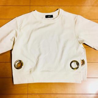 ダミー(DAMMY)のDAMMY ダミー ショート丈Tシャツ 5分袖(Tシャツ(半袖/袖なし))