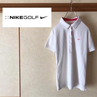 ナイキ(NIKE)の【極美品】NIKE GOLF ナイキゴルフ ワンポイントロゴ ポロシャツ XL(ポロシャツ)
