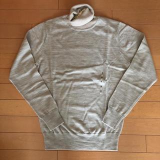 ムジルシリョウヒン(MUJI (無印良品))の新品タグ付き 無印良品 タートルニット M(ニット/セーター)