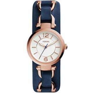 865fe19f07 フォッシル(FOSSIL)のフォッシル ベルト ネイビー ゴールド 腕時計 カジュアル(腕時計)