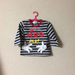ディズニー(Disney)のミッキー ロンT 60〜70㎝(Tシャツ)