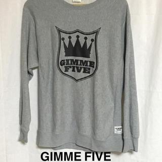 ギミファイブ(GIMME5)のGIMME FIVE ギミファイブ プリントトレーナー(スウェット)