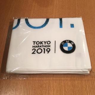 ビーエムダブリュー(BMW)のBMW 東京マラソン タオル 新品(陸上競技)