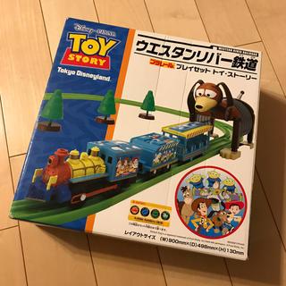 ディズニー(Disney)のblue blueさん専用★Disney ウエスタンリバー鉄道 プラレールセット(電車のおもちゃ/車)