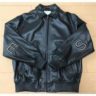 シュプリーム(Supreme)のsupreme leather jacket fcrb schott yeezy(レザージャケット)